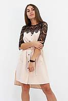 S, M, L | Вишукане романтичне плаття Аделін, бежевий S (42-44)