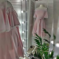 Сукня жіноча рожева.