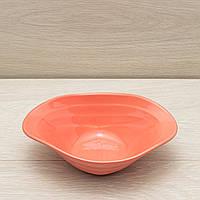 Салатник Аладдін 0,5 л рожевий, фото 1