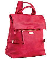 Женская сумка-рюкзак  YES, красный 29*33*15см