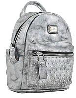 Женская сумка-рюкзак  YES, темно-серый , 17*20*8см