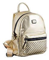 Женская сумка-рюкзак  YES, золотой, 19.5*25*11см