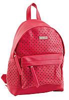 Женская молодежная сумка-рюкзак YES, малиновый , 23.5*33*11см