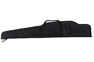 Чехол 115см для охотничьего ружья, карабина, винтовки с оптикой, прицелом/ чехол с уплотнителем, чёрный