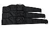 Чехол 115см для охотничьего ружья, карабина, винтовки с оптикой, прицелом/ чехол с уплотнителем, чёрный, фото 2