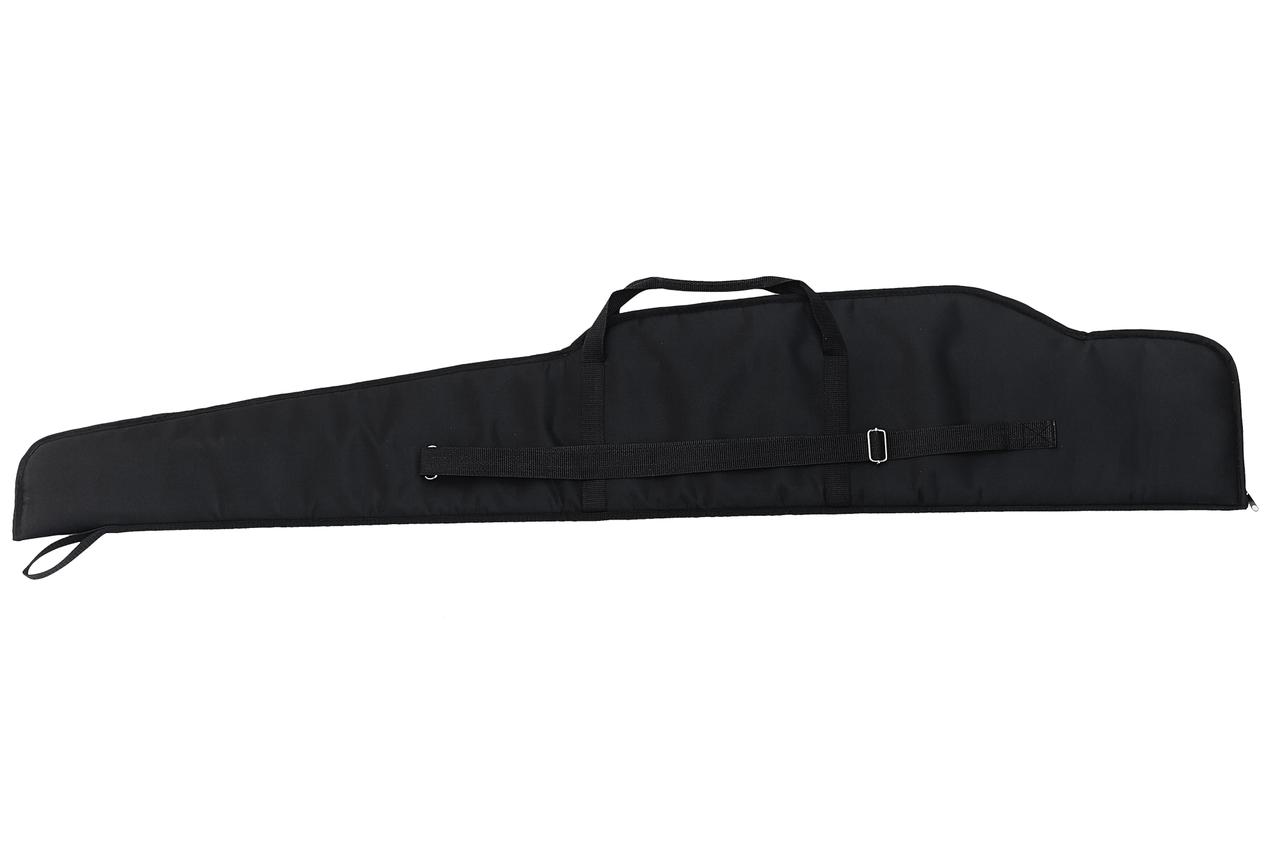 Чехол 125см для охотничьего ружья, карабина, винтовки с оптикой, прицелом/ чехол с уплотнителем, чёрный