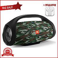 Портативная Bluetooth-колонка JBL Boombox BIG c функцией PowerBank и FM radio камуфляж