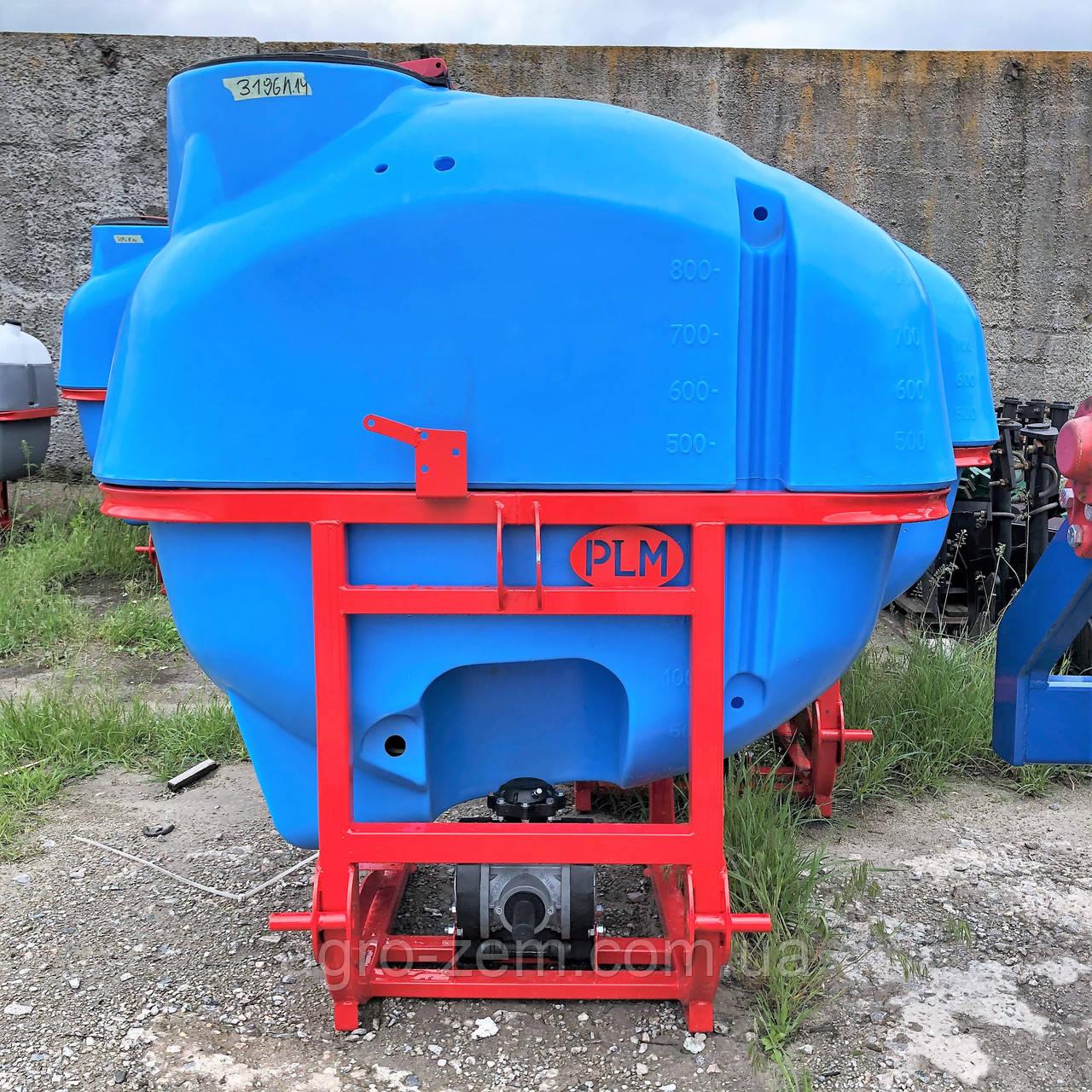 Опрыскиватель навесной POLMARK 800 литров 14 м