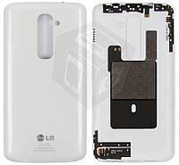 Задняя крышка батареи для LG Optimus G2 D802, оригинал, белый