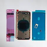 Корпус Novacel для Apple iPhone 8 Gold, фото 2
