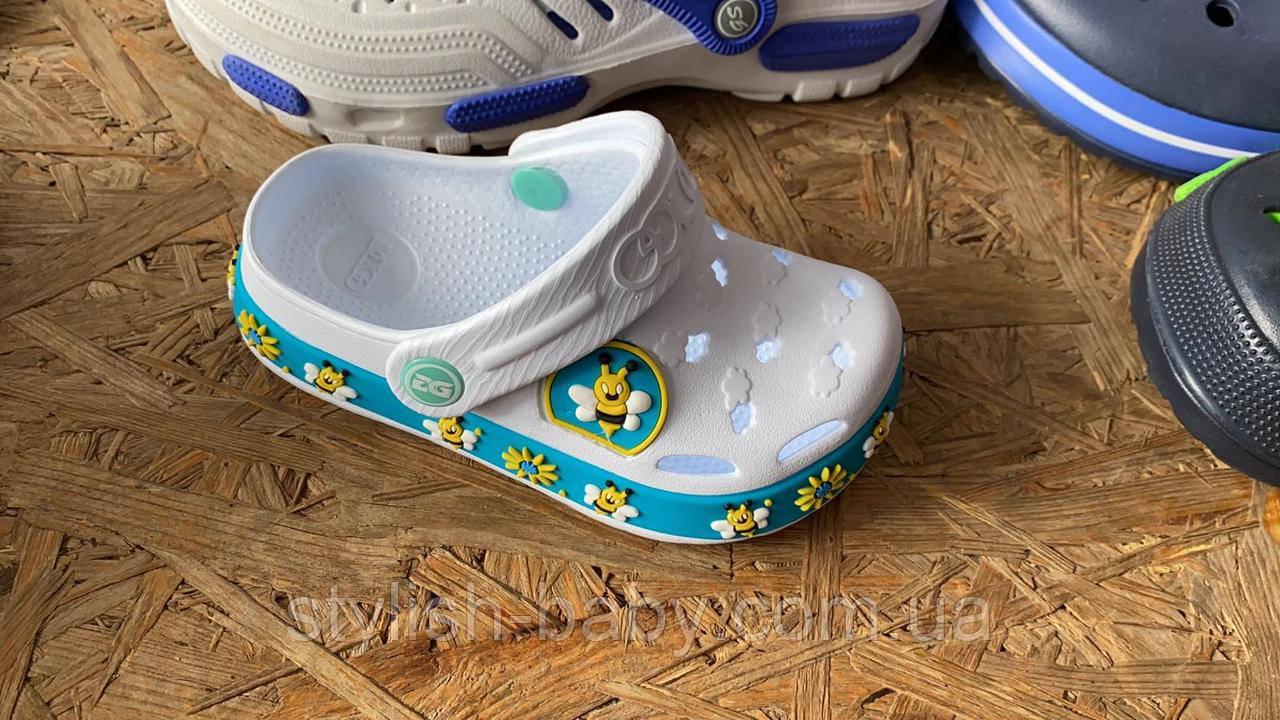 Детская коллекция летней обуви оптом. Детские кроксы 2020 бренда Dago для девочек (рр. с 24/25 по 32)