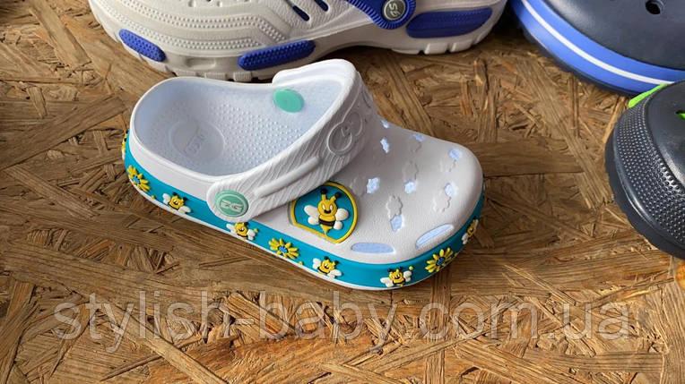 Детская коллекция летней обуви оптом. Детские кроксы 2020 бренда Dago для девочек (рр. с 24/25 по 32), фото 2