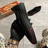 🔥 Кроссовки Vans Old Skool Black FIRE Ванс Олд Скул Черный 🔥 Вэнсы Олд Скул 🔥 Ванс мужские кроссовки🔥, фото 5