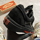 🔥 Кроссовки Vans Old Skool Black FIRE Ванс Олд Скул Черный 🔥 Вэнсы Олд Скул 🔥 Ванс мужские кроссовки🔥, фото 8