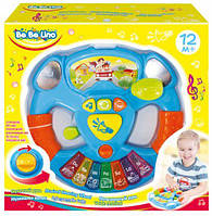 Детский интерактивный руль-пианино 57031