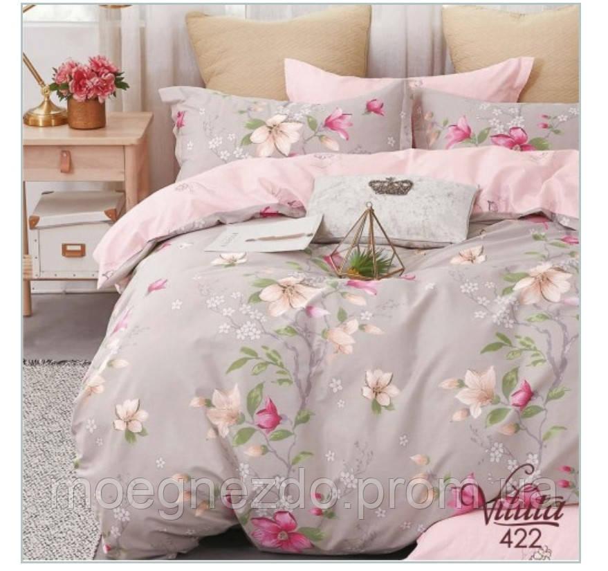 Семейное постельное белье сатин Вилюта Viluta