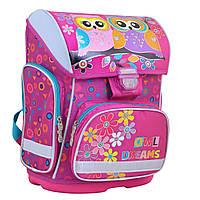 Рюкзак школьный для девочки 6-10 лет каркасный 1 Вересня H-26 Owl, 40*30*16
