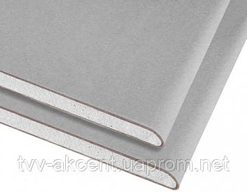 Гіпсокартон стіновий Knauf 12,5*1200*2000 мм