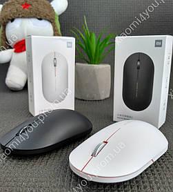 Бесшумная Беспроводная Мышь Xiaomi Mi Wireless Mouse Version 2 (HLK4039CN) , черная