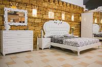 Кровать MW1800 (White, Krem) - спальня Luchia (Лючия)
