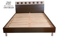 """Кровать КТ-575 Спальня """"Лира"""""""