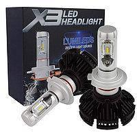 Лампа светодиодные LED лампа X3 Philips Lumileds Z ES, H7