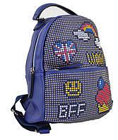 Женская сумка-рюкзак YES, синий