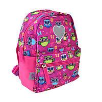 Рюкзак детский YES K-19 Owl, 24.5*20*11, фото 1