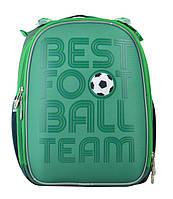 Рюкзак шкільний каркасний YES для хлопчика 6-9 років H-25 Football, 35*26*16, фото 1