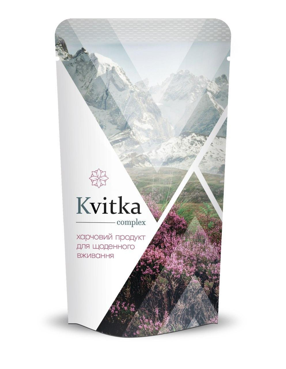 Kvitka complex - комплекс для нормализации работы кишечника и здоровой микрофлоры кишечника