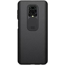 Nillkin Xiaomi Redmi Note 9 Pro/ 9 Pro Max/ 9S CamShield Case Black Чехол Накладка Бампер