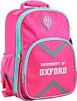 Школьный рюкзак для девочки 14-18 лет школьный YES  OX 379, 40*29.5*12, розовый