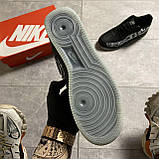 ВИДЕО 🔥 Кроссовки Nike Air Force 1 Skeleton Black Найк Аир Форс Черный Скелетон 🔥 Найк мужские кроссовки 🔥, фото 7