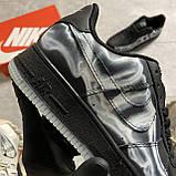 ВИДЕО 🔥 Кроссовки Nike Air Force 1 Skeleton Black Найк Аир Форс Черный Скелетон 🔥 Найк мужские кроссовки 🔥, фото 6