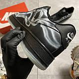 ВИДЕО 🔥 Кроссовки Nike Air Force 1 Skeleton Black Найк Аир Форс Черный Скелетон 🔥 Найк мужские кроссовки 🔥, фото 8