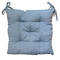 Подушка на стул Ретро синяя