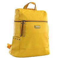 Женский рюкзак молодёжный YES YW-23, 32*34.5*14, желтый