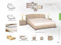 Кровать Ривьера 1600 с матрасом
