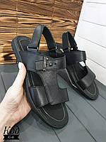 Кожаные мужские сандалии  Код С-6