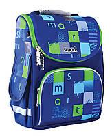 """Рюкзак школьный для мальчика 6-9 лет каркасный Smart PG-11 """"Smart Style"""""""