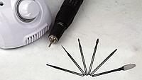 Набор профессиональных насадок для фрезера (5+1) Средней жесткости