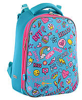 """Рюкзак шкільний каркасний YES H-12 """"Fun Mood"""", фото 1"""