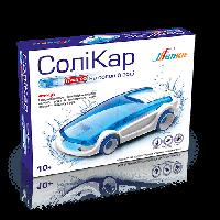 Соликар - детский развивающий конструктор, автомобиль работает на соленой воде BK233
