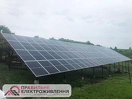 Мережева СЕС 30 кВт у с. Великий Кучурів 1