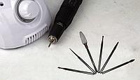 Набор профессиональных насадок для фрезера (5+1) Мягкой жесткости