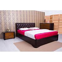 """Кровать """"Милена"""" с мягкой спинкой ромбы или квадраты"""