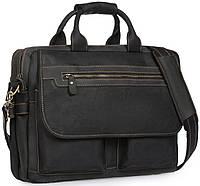 Сумка-портфель мужская кожаная для поездок Tiding Bag t29523A, фото 1