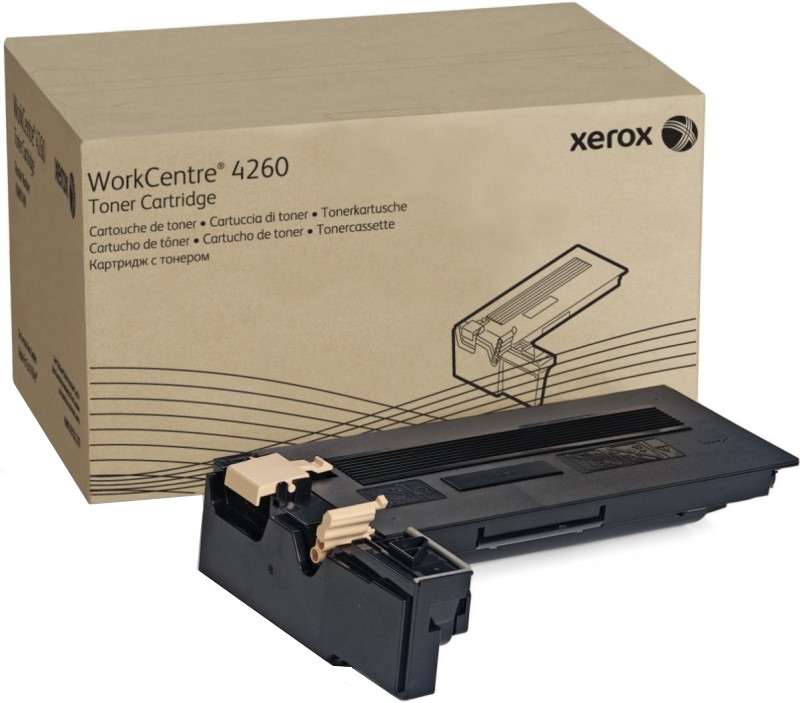 Тонер-картридж Xerox WorkCentre 4265 Black 25000 страниц
