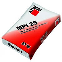 Машинная штукатурка Baumit MPI 25