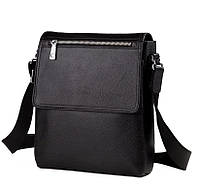 Мужская сумка через плечо зернистая кожа Tiding Bag M2994A, фото 1